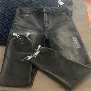 Abercrombie & Fitch High Rise Skinny Size 12 NWT